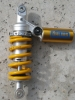 1098 Ohlins shock with Traxxion Dynamics preload collar installed.