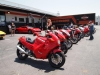 A nice group of Ducatis made up the bike portion of the show.